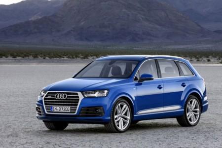 Audi Q7 2 поколения