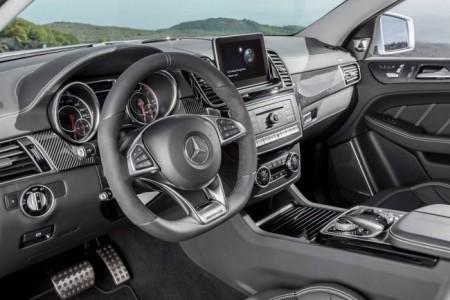 Mercedes-AMG 63 GLE Coupe салон