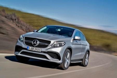Mercedes-AMG 63 GLE Coupe экстерьер