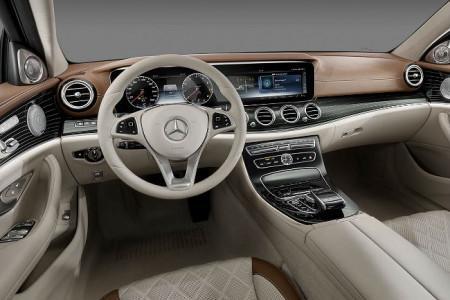 Mercedes E-Class W213 - салон