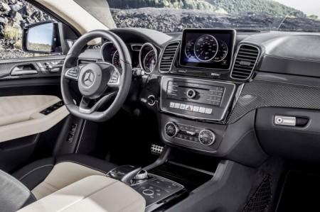Mercedes GLE 450 AMG Sport Coupe салон