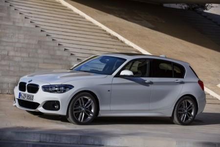 BMW 1-Series рестайлинг 2016