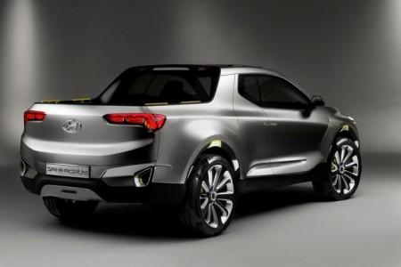 Hyundai Santa Cruz Crossover Truck концепт пикапа