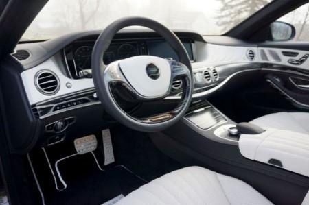 Mansory S63 AMG салон