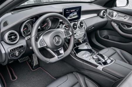 Mercedes C450 AMG Sport салон