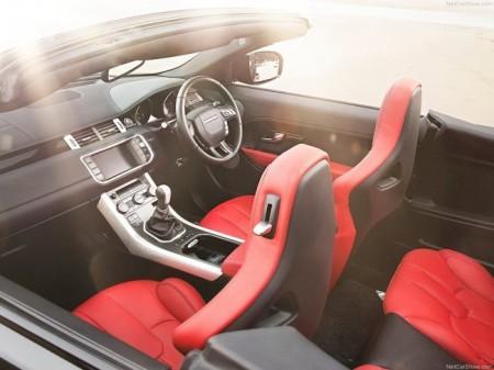 Range Rover Evoque Cabriolet салон