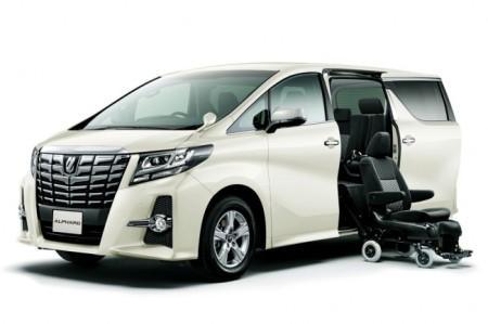 Toyota Alphard 3 двери