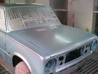 разбираем автомобиль перед покраской