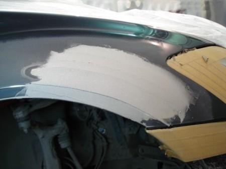 шпатлевка перед покраской авто