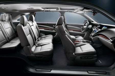 Acura MDX 2016 салон
