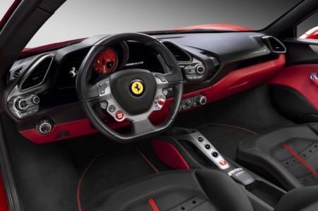 Ferrari 488 GTB салон