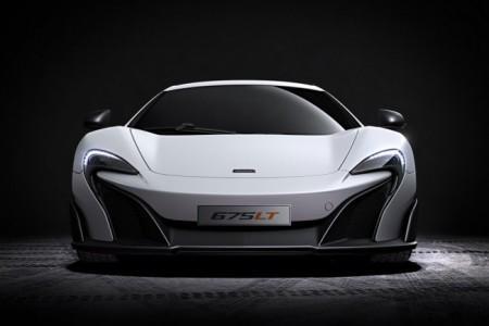McLaren 675 LT вид спереди