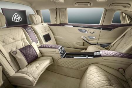 Mercedes-Maybach Pullman салон
