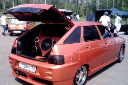 багажник ВАЗ 2112