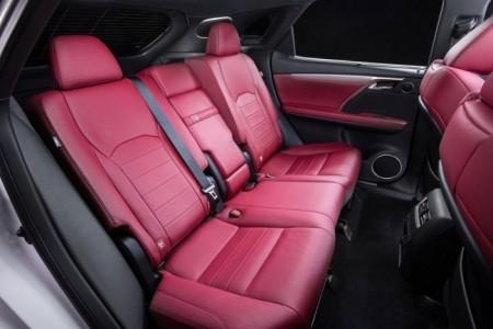 интерьер Lexus RX 4