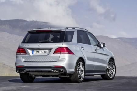 переименованный Mercedes ML в GLE