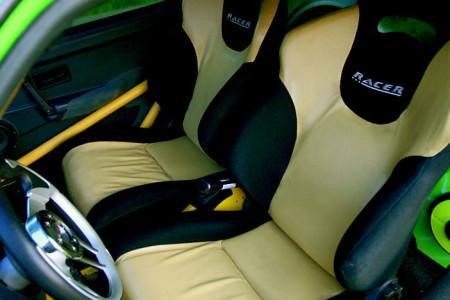 тюнинг ВАЗ 2108 спортивные кресла