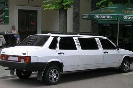 тюнинг ВАЗ 21099 лимузин