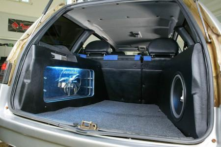 тюнинг ВАЗ 2111 оформление багажника