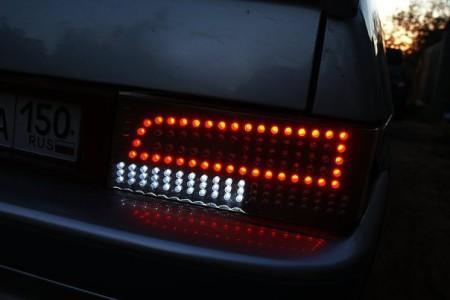 тюнинг задних фонарей ВАЗ 21099