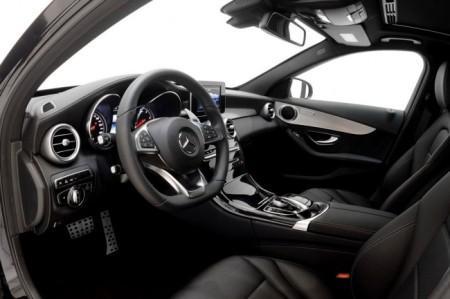 тюнинг салона Brabus для Mercedes C-Class Wagon S205