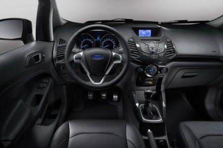 Ford EcoSport 2016 салон