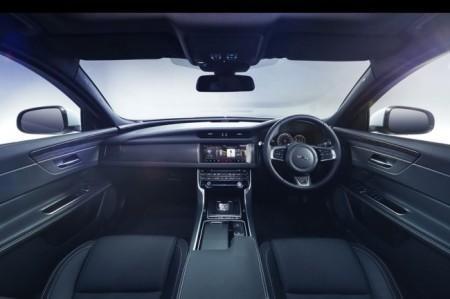 Jaguar XF 2 салон