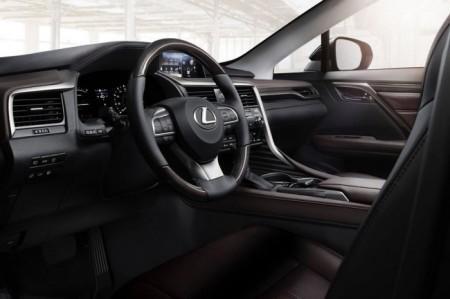 Lexus RX 4 салон