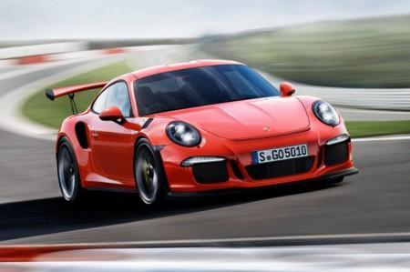 Porsche 911 GT3 RS в кузове 991
