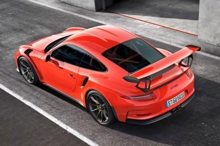 Porsche 911 GT3 RS экстерьер