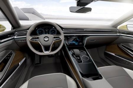 Volkswagen Sport Coupe Concept GTE салон