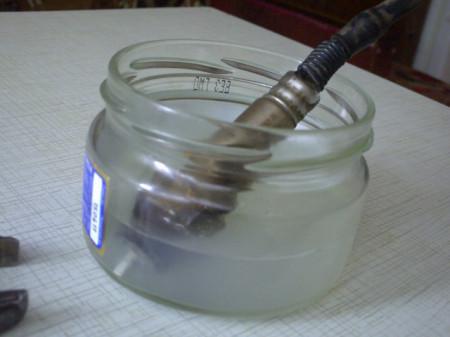 как очистить лямбда зонд