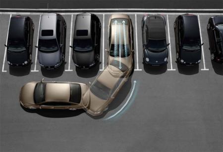 перпендикулярная парковка задом