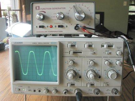 проверка лямбда зонда на электронном осциллографе