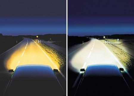 разница между обычными лампами и ксеноном