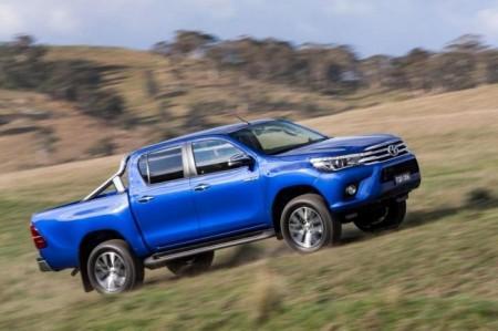Toyota Hilux 8 в новом кузове