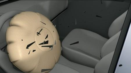 взрыв подушки безопасности Takata