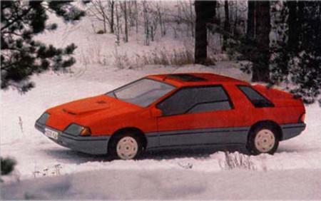самодельный автомобиль ЛАУРА