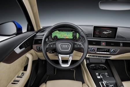 Audi A4 2016 - салон