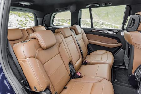 Mercedes-Benz GLS - интерьер