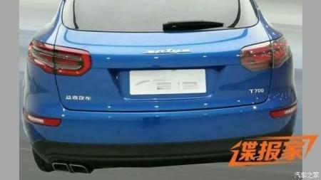 Zotye T700 - китайский Макан