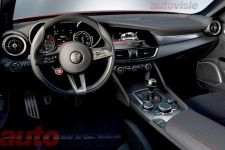 Alfa Romeo Giulia QV - салон