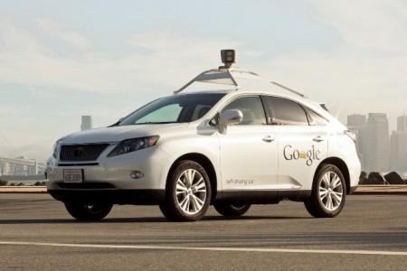 Lexus RX 450 в качестве беспилотника Google