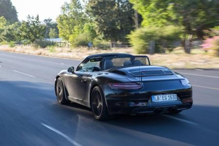 Porsche 911 рестайлинг 2016
