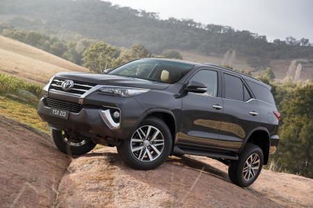 Toyota Fortuner в новом кузове
