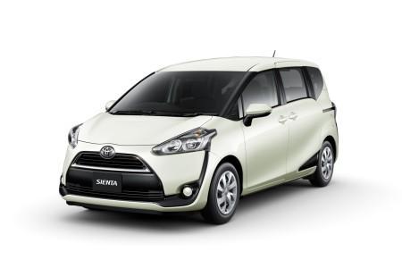 Toyota Sienta X V Package (7 мест, 2WD)