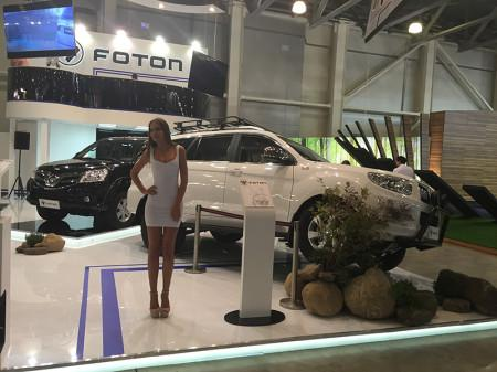 автомобили FOTON на Moscow Off-road Show 2015