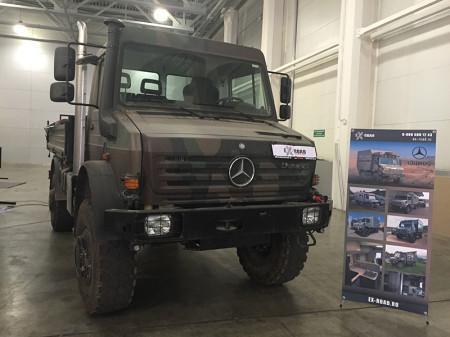 вседорожный грузовик от Мерседес