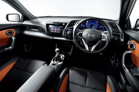 интерьер Honda CR-Z 2016
