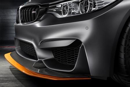 передние фары и бампер BMW M4 Coupe GTS